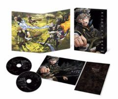 First 'Black Clover' Anime DVD/BD Release Packaging Surfaces