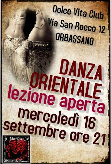 #corsi #Orbassano #ArtemideDanza #danzaorientale #bellydance #danzadelventre  Ass.La Dolce Vita Club in collaborazione con Artemide   * LEZIONE APERTA e GRATUITA * * Mercoledì 16 Settembre ore 21 *