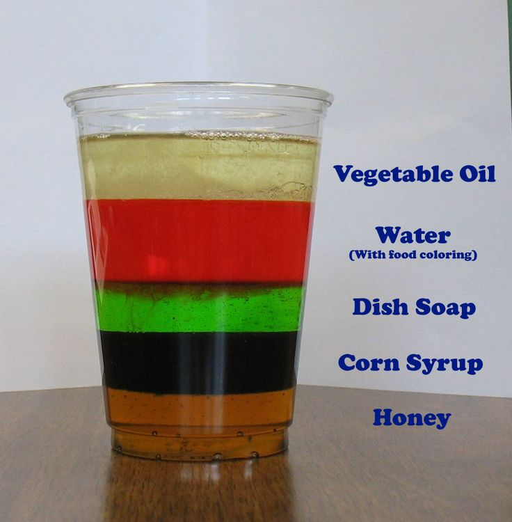 Best Density Experiment Ideas On Pinterest At Home Science