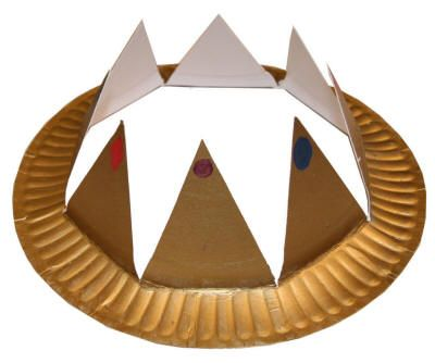 Lesson 22 The Forgiving King:  Matt. 18 - paint paper plate gold in advance, let kids color and add jewels, cut into 1/8ths for crown points