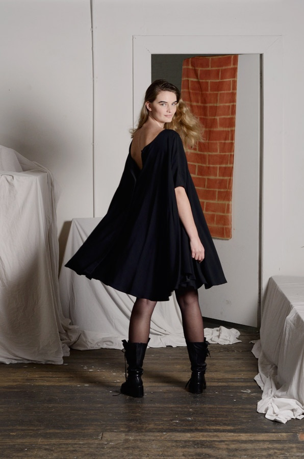 Arise Dress in Black