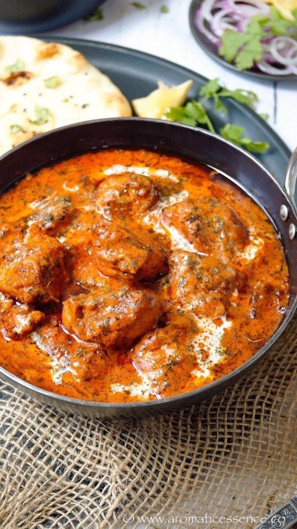 Butter Chicken Rezept Geniales Schrittweises Rezept Butter Chicken Im Restaurantstil Von Aromaticessence Delicious Indian Recipes Via Sunjayjk