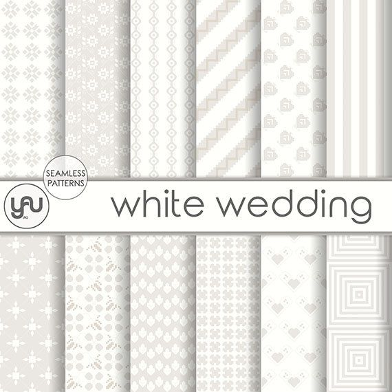 "Wedding digital paper :"" WHITE WEDDING "" with white wedding digital seamless patterns, white invitation, wedding scrapbook paper  #Scrapbooking  #Paper #wedding #digital #scrapbook #white #ivory #pattern #invitation #geometric #background  #ScrapbookingPaper #weddingdigital #weddingpaper #weddingdigitalpaper #weddingscrapbook #scrapbookpaper #whitewedding #semamlesspattern #whiteinvitation #geometricpattern #weddinginvitation #weddingbackground"