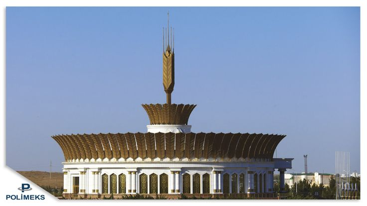 White Wheat Museaum Ashgabat Exterior
