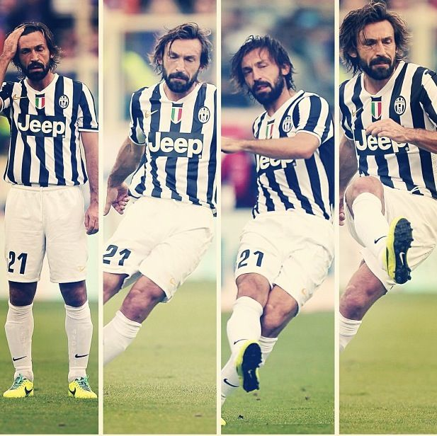 Andrea Pirlo the legend Juventus