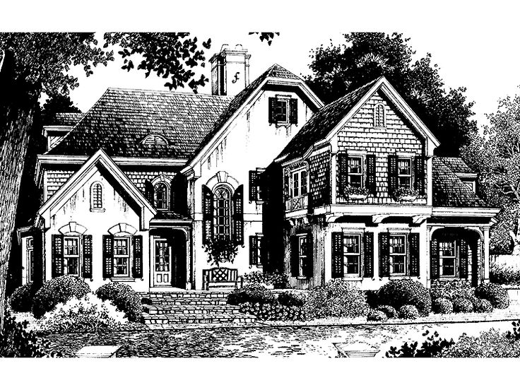 202 best house plans images on pinterest house for Southern french country house plans