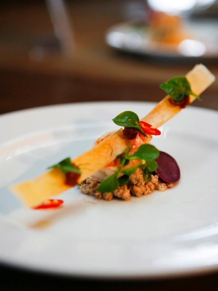 thai fusion food presentation plating art pinterest