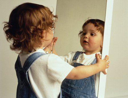 Kinderen spiegelen het gedrag van hun ouders