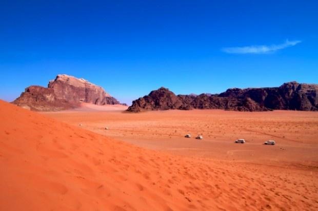 Wadi Rum in Giordania, patria della splendida Petra