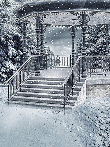 6.5ft(h)x5ft(w) White Snowing Pavilion Made of Iron Photo... https://www.amazon.com/dp/B01GV26X60/ref=cm_sw_r_pi_dp_x_YPpkybTPSPNNB