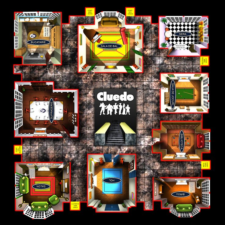 Cluedo An amazing board game. You can play it with