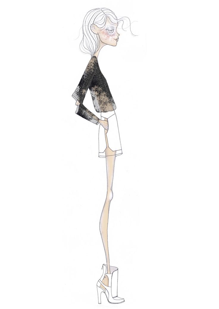 Fashion illustration // Leandro Benites
