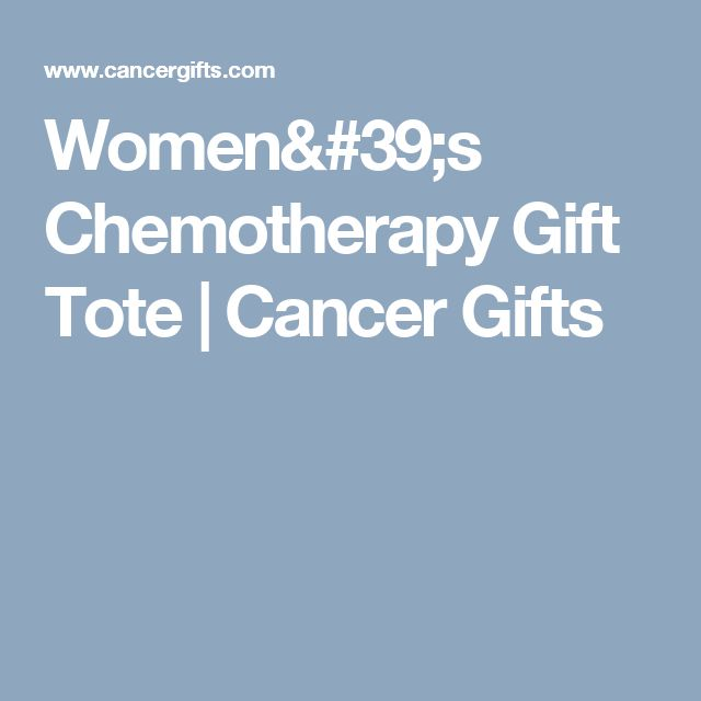 Women's Chemotherapy Gift Tote | Cancer Gifts