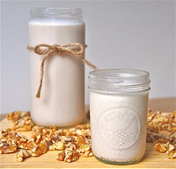 Vanilla Walnut Milk - calls for 5 cups water to 1 cup nuts