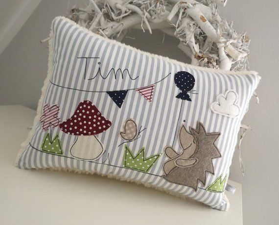Etsy Cuscini.Pillow Hedgehog Name Pillow Cuddle Pillow Cuscini Peluche E Cucito