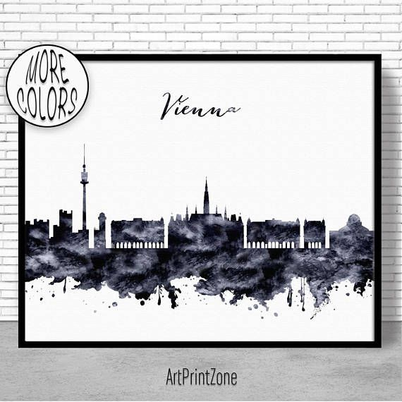 $8.00 Vienna Print, Vienna Skyline, Vienna Austria, Office Wall Art, City Skyline Prints, Skyline Art, Cityscape Art, ArtPrintZone #CityPoster #CitySkylinePrints #OfficeWallArt #ViennaPrint #ArtPrintZone #CitySkylineArt #SkylineArt #OfficeDecoration #CityscapeArt #ArtPrint