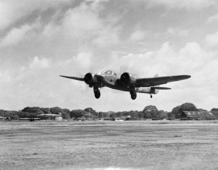 IWM caption : A Bristol Blenheim Mark IV of No. 11 Squadron RAF, takes off from Racecourse airfield, Colombo, Ceylon. While in Ceylon, the Squadron took part in the attack on the Japanese carrier force which attacked the island in April 1942.