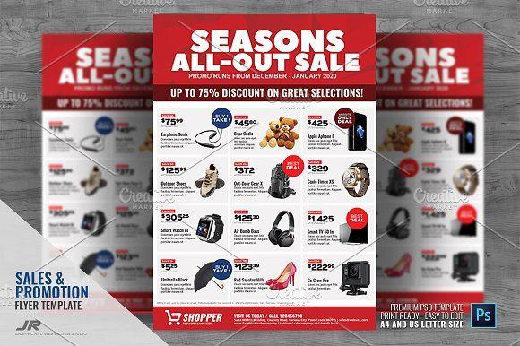 Product Promotional Sale Flyer Sale Flyer Flyer Design Templates Flyer