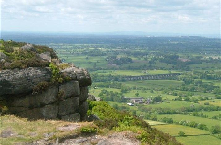 Chesire, the Gritstone trail