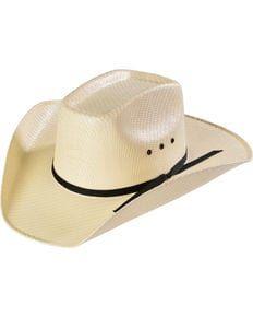Kids Sancho Canvas Cowboy Hat, Cream