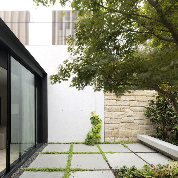 Tobias Partners - Cooper Park House courtyard.