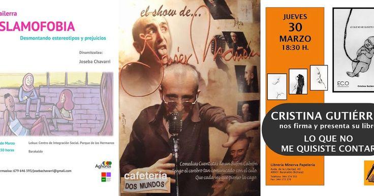 Agenda | Un libro sobre el robo de bebés + humor de Javier Mañón + taller sobre islamofobia