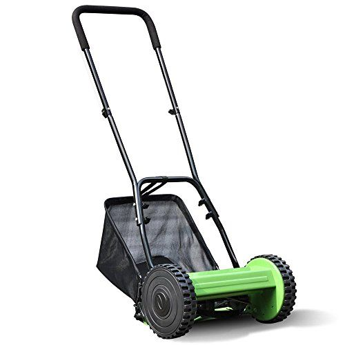 tinkertonk-Hand-Power-Garden-Lawn-Push-Reel-Manual-Lawnmower