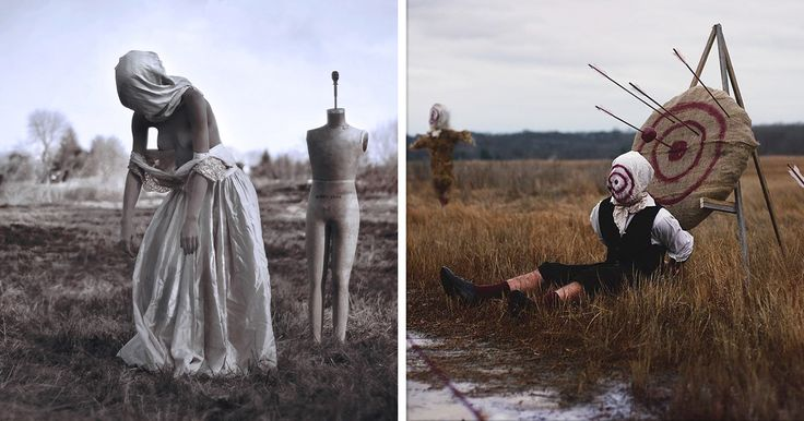 22-Year-Old Man With Sleep Paralysis Recreates His Nightmares In Photos, And It's Terrifying | Bored Panda