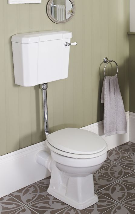 The Addition Of A Ceramic Lever On The Cistern Give S Amore U0027up Market · Bathroom  AccessoriesTowel ...