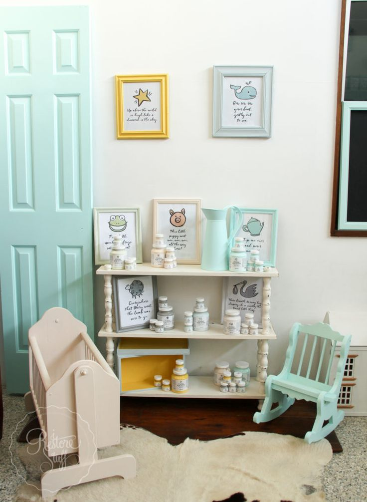 Elegant New U0027Tones For Totsu0027 Nursery Collection By Fusion Mineral Paint