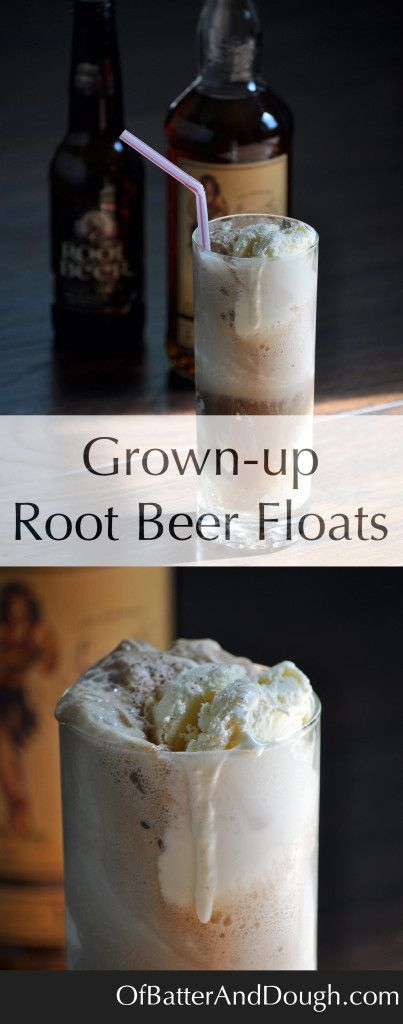 August 6th is National Root Beer Float Day! Celebrate with these Rum Spiked Root Beer Floats with Nutmeg and Homemade Vanilla Ice Cream.