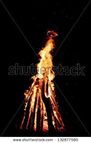Natural bonfire by ANOVVA.EU, via ShutterStock