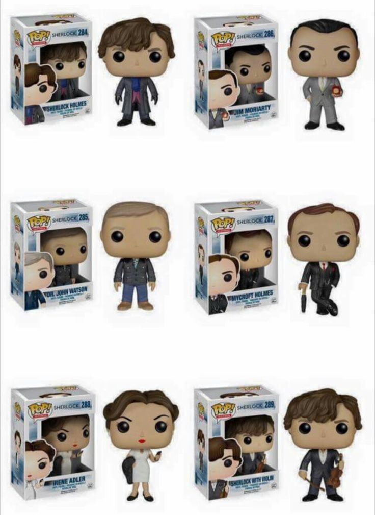 Sherlock Funko Pops- Booking this day off to get them haha