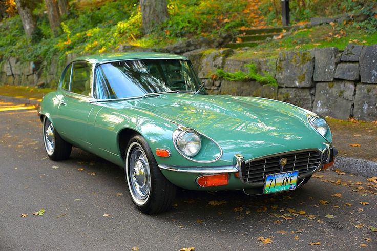 1971 Jaguar V12 E-Type Coupe   Sports Car Shop