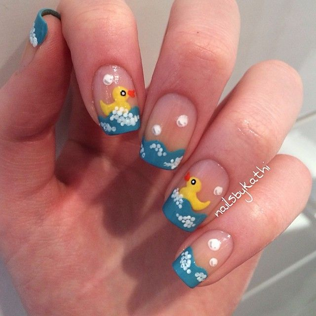 Adorable Nail Art: Best 20+ Baby Nail Art Ideas On Pinterest