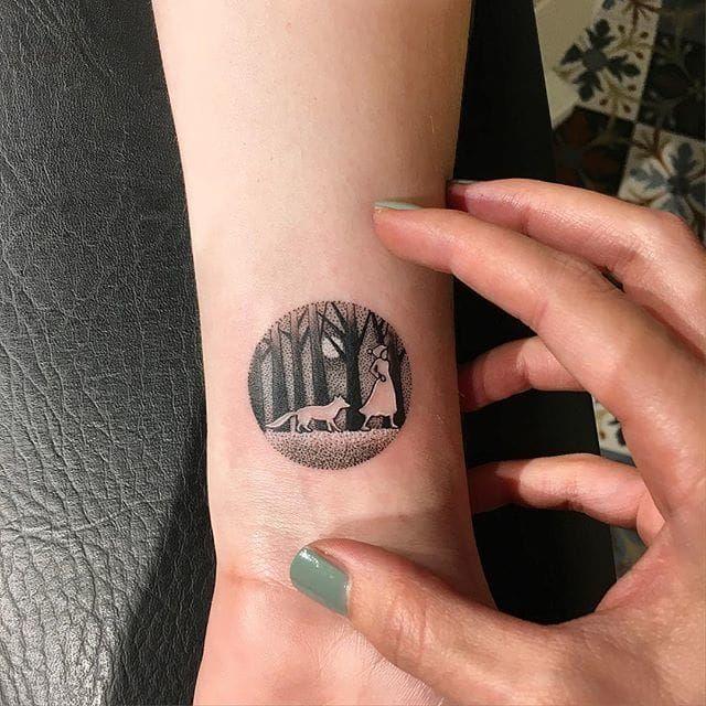Dainty Miniature Tattoos Of Sceneries By Eva | Tattoodo.com