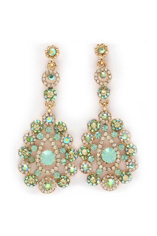 Minty Isabella Earrings