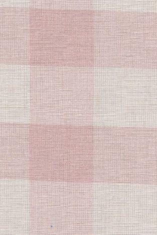 Pink Icing Large Check - Peony Sage