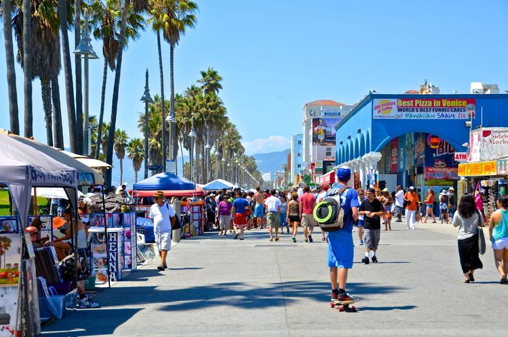 Boardwalk in Venice Beach, CA | Places | Pinterest | Cas, Angeles and The o'jays
