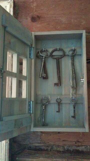 Key Closet by Ristomatti Ratia. Old - also handmade keys - still in use.