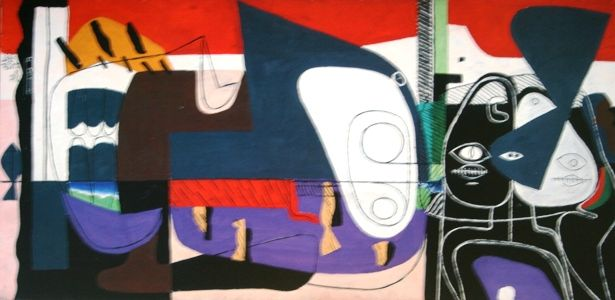 "Ле Корбюзье ""Бык V"" 1954 Собрание Фонда Ле Корбюзье"
