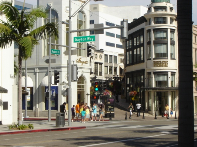 Rodeo+Drive+Parking