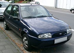 The all new Fiesta Mark IV (internal code name was BE91) was launched in 1995 and became Britain's best-selling car from 1996 to 1998.The design was produced by,budding designer David Knapper.  The model used the chassis of the Mark III car, but most components were heavily revised, including a new suspension system, which gave the Fiesta one of the best handling abilities in its class.