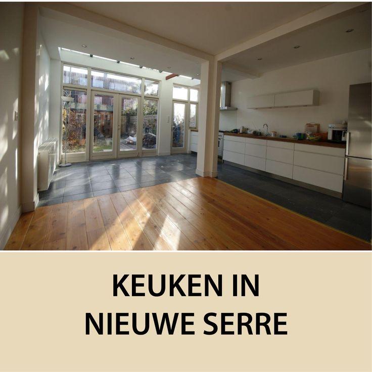 Keuken in nieuwe serre aanbouw inspiratie r wonen met serre pinterest keuken moderne - Moderne keuken deco keuken ...