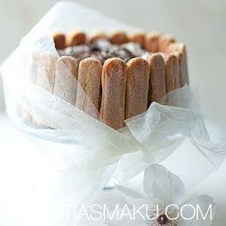 Tort Tiramisu. Przepis na deser tiramisu. Z biszkoptów i mascarpone.
