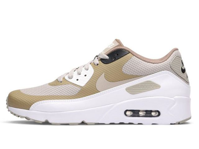 Nike Air Max 90 Ultra 2.0 Essential Pale Grey Khaki White (875695-005)