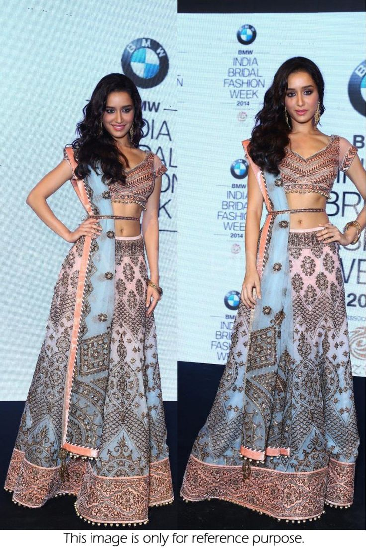 Bridal threads: Shraddha Kapoor at a conference of bridal fashion ...