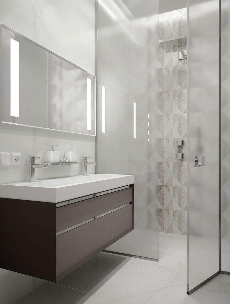 Die 25+ besten Doppelwaschbecken badezimmer Ideen auf Pinterest ... | {Badezimmermöbel doppelwaschbecken grau 78}