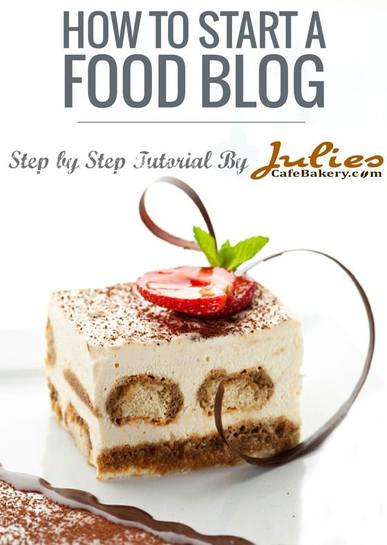 How to start a food blog - setting up a domain name, installing wordpress, etc.