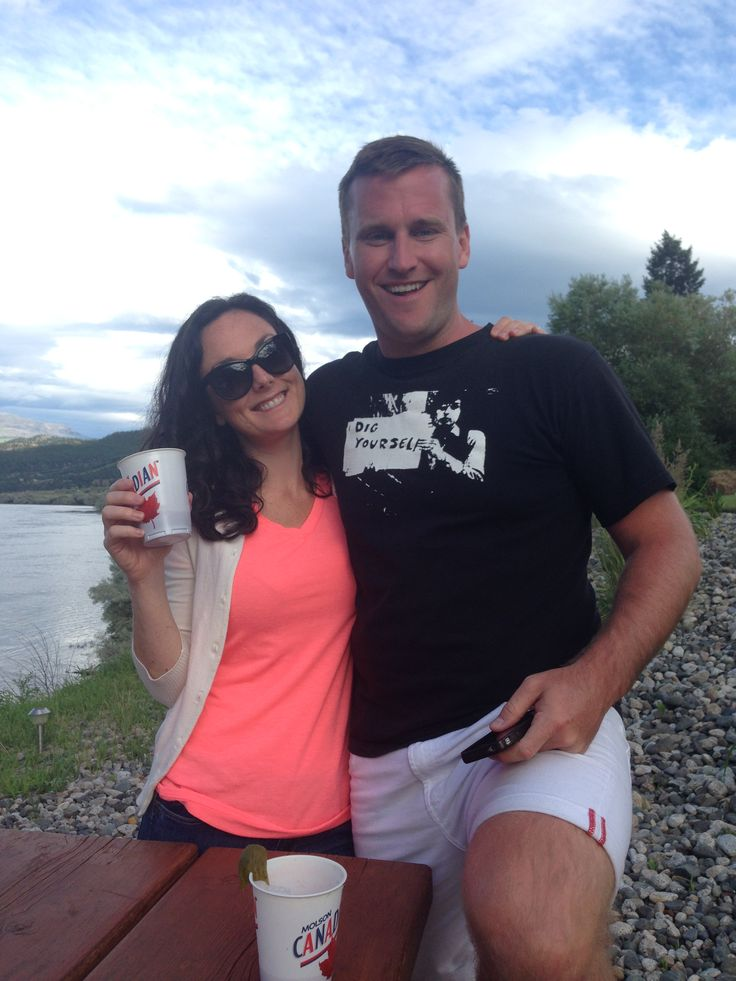 RTOWN CEO, Luke Aulin, with Community Manager Tara Chauvin at the RTOWN Retreat